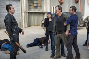 8x15 ~ Worth ~ Negan, Simon and Arat