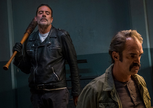 The Walking Dead Wallpaper Titled 8x15 Worth Negan And Simon