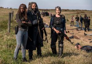 8x16 ~ Wrath ~ Carol, Ezekiel and Michonne