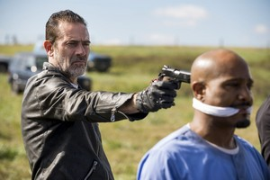 8x16 ~ Wrath ~ Negan and Gabriel