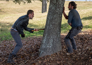 8x16 ~ Wrath ~ Negan and Rick