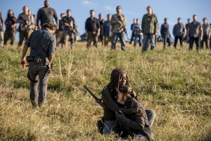 8x16 ~ Wrath ~ Rick, Michonne and Maggie