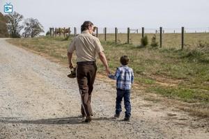 8x16 ~ Wrath ~ Rick and Baby Carl