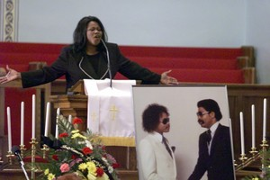 Roger And Larry Troutman's Funeral