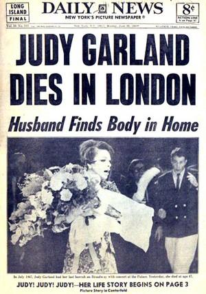 Artikel To Passing Of Judy Garland