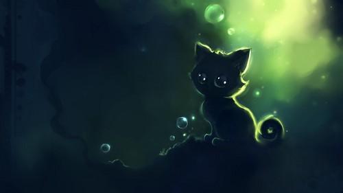 Gatti wallpaper called Anime Kitty