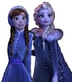 Anna & Elsa is Happy - frozen photo