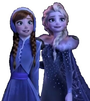 Anna & Elsa is Happy