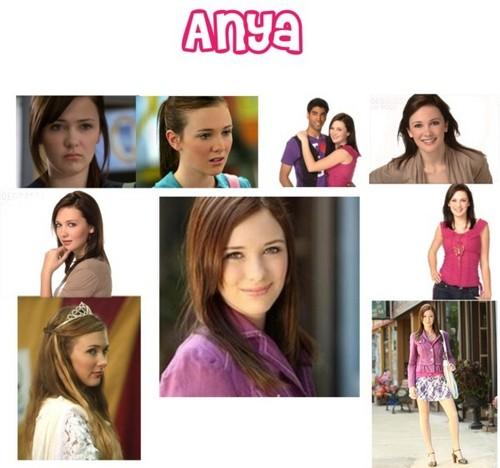 Degrassi: The Next Generation wallpaper entitled Anya Macpherson
