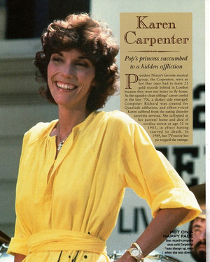 기사 Passing Of Karen Carpenter