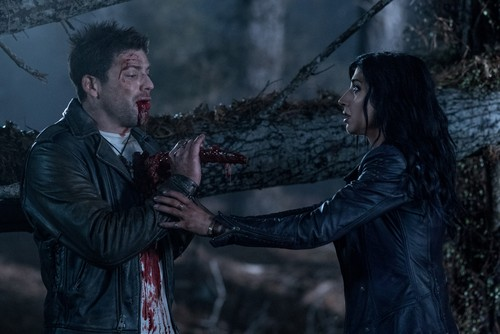 "Ash vs Evil Dead achtergrond entitled Ash Vs Evil Dead ""Apparently Dead"" (3x03) promotional picture"