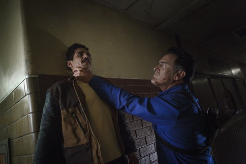"Ash vs Evil Dead achtergrond called Ash Vs Evil Dead ""Twist and Shout"" (3x07) promotional picture"