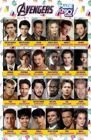 Avengers: 90s Cast Edition