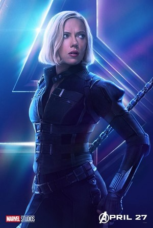 Avengers: Infinity War - Black Widow Poster