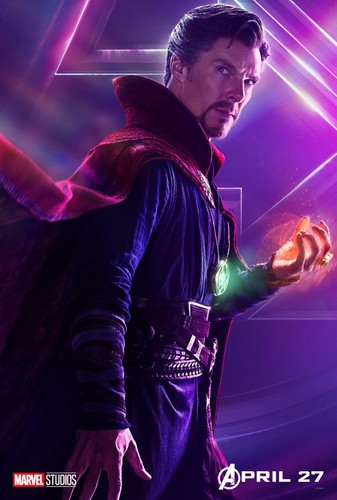 Avengers: Infinity War 1 & 2 壁纸 called Avengers: Infinity War - Character Posters