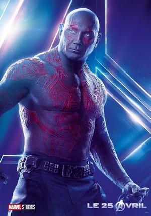 Avengers: Infinity War - Drax Poster