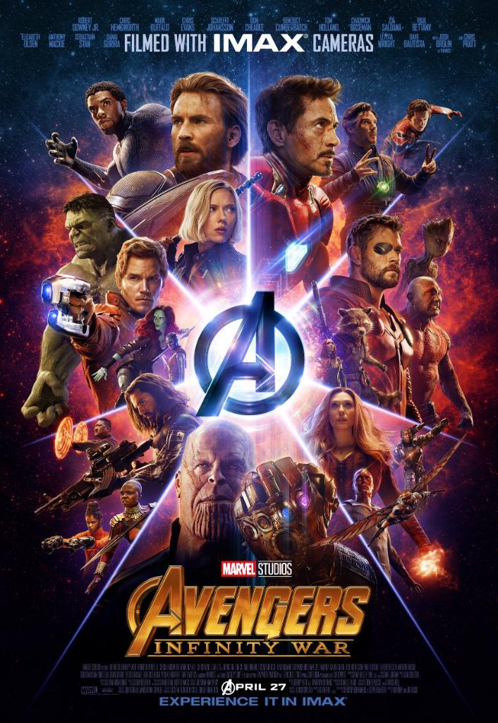 avengers: infinity war 1 & 2 images avengers: infinity war - imax