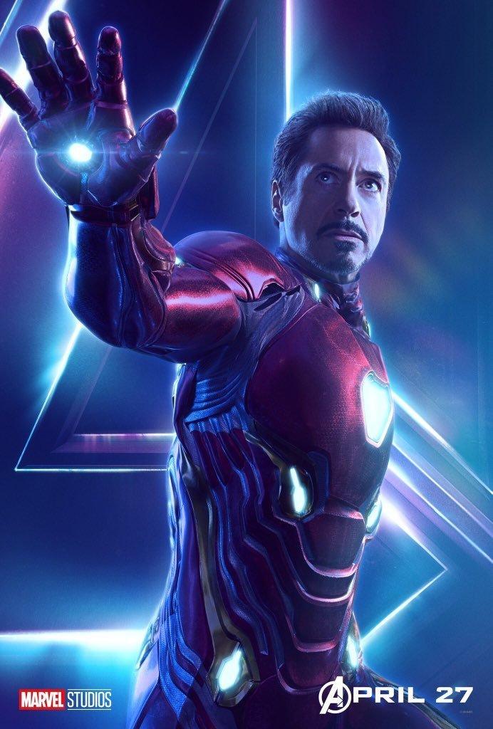 Avengers: Infinity War - Iron Man Poster