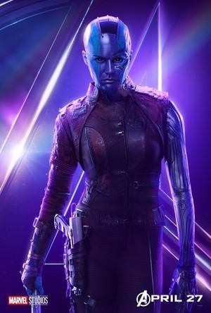 Avengers: Infinity War - Nebula Poster
