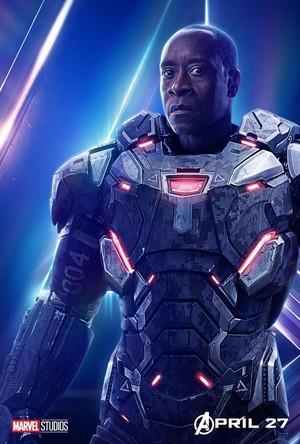 Avengers: Infinity War - War Machine Poster