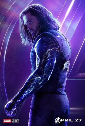 Avengers: Infinity War - Winter Soldier Poster