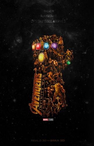 Avengers: Infinity War 1 & 2 壁纸 entitled Avengers - Infinity War (poster)