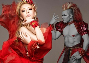 Ayumi Photographed Red dress