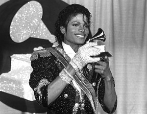 Backstagage At The 1984 Grammy Awards