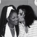 Backstage At The 1993 Granny Awards - michael-jackson photo