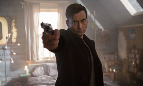 Suspense Filem kertas dinding entitled Bad Samaritan (2018)