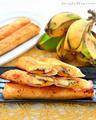 banaan karamel Roll