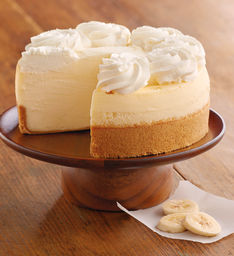 pisang Cream Cheesecake