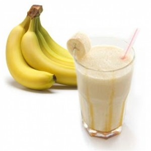 バナナ ミルク Shake
