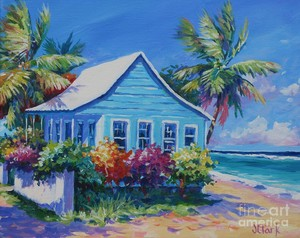 Beachfront Cottage In The Bahamas