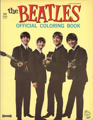 Beatles coloring book