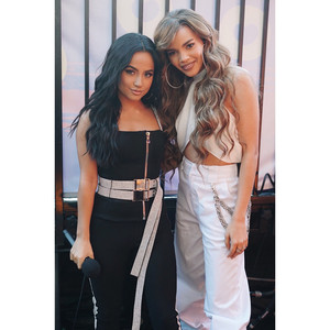 Becky G and Leslie Grace