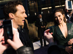 Benedict Cumberbatch and Elizabeth Olsen