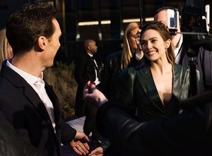 Benedict Cumberbatch and Elizabeth Olsen