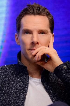 Benedict promoting Infinity War