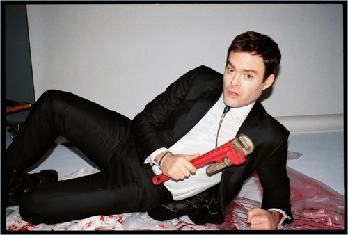 Bill Hader wolpeyper titled Bill Hader - GQ Photoshoot - 2018