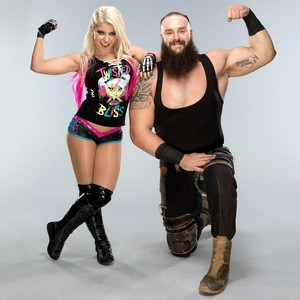 Braun Strowman and Alexa Bliss