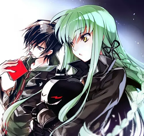 Code Geass wallpaper called C.C./Lelouch🌹