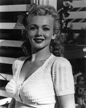 Carole Landis-Frances Lillian Mary Ridste (January 1, 1919 – July 5, 1948)