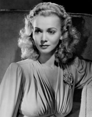 Carole Landis-Frances Lillian Mary Ridste (January 1, 1919 – July 5, 1948)