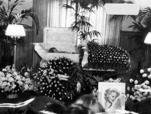 Carole Lombard's Funeral In 1942