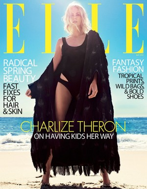 Charlize Theron covers Elle US [May 2018]