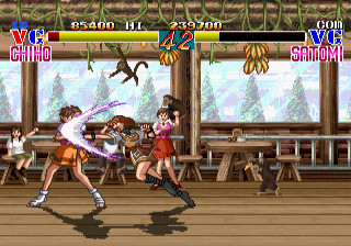 Video Games wallpaper called Chiho vs. Satomi