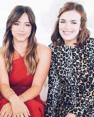 Chloe and Elizabeth