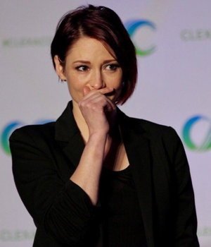 Chyler Leigh at ClexaCon 2018