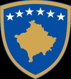 کوٹ of arms of Kosovo